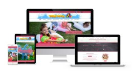 Web Design For Kids Party Entertainers