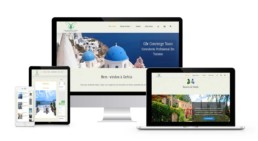 Web Design For Travel & Tourism Greece