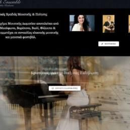 Eunoia Web Design - Κατασκευη & σχεδιασμός ιστοσελίδων για μουσικούς
